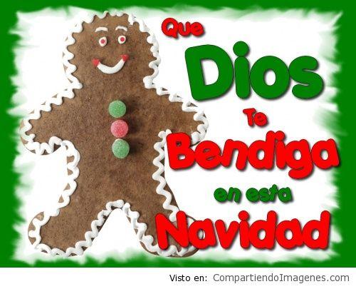 Que Dios te bendiga en esta navidad