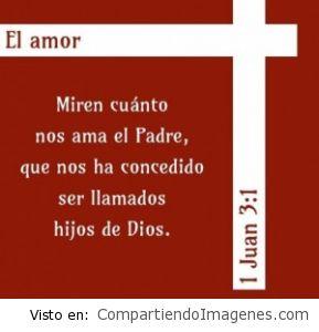 Grande es el amor de Dios