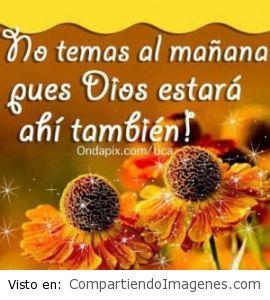 Dios esta contigo siempre