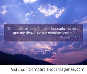 Postal del Salmo 119:10