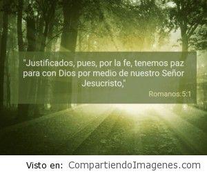 Postal de Romanos 5:1