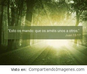 Postal Juan 15:17
