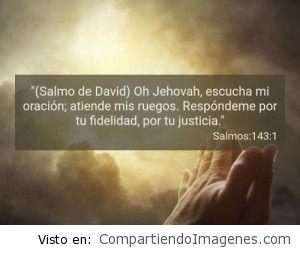 Postal del Salmo 143:1