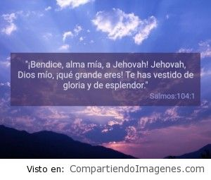 Postal del Salmo 104:1