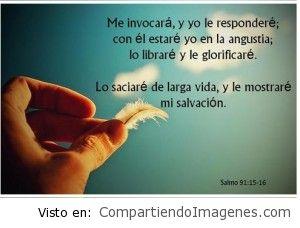 Te mostrare mi salvacion