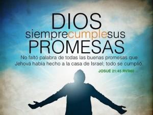 El Señor cumple sus promesas!