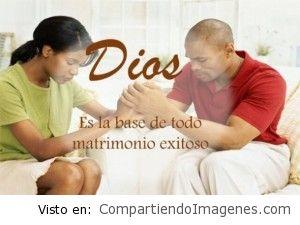 Dios es la base de todo matrimonio exitoso