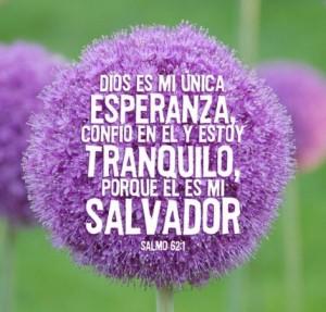 El Señor es mi unica esperanza