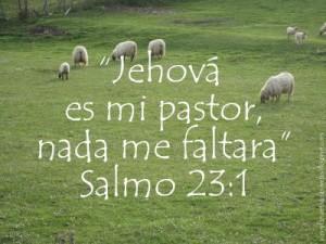 Jehova es mi Pastor, Nada me faltara