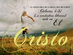 La verdadera libertad esta en Cristo Jesus