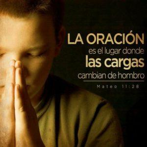 La oracion!
