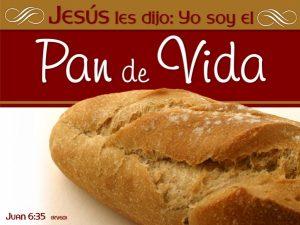 Jesus es el pan de vida