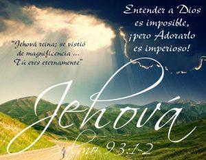 Jehová reina, se vistió de magnificencia