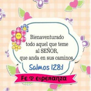 Bienaventurado todo aquel que teme al Señor
