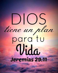 Dios tiene un hermoso plan para tu vida