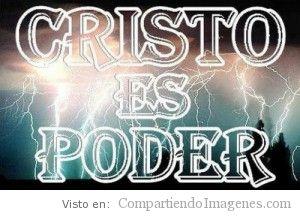 Cristo es poder