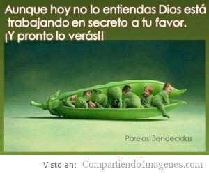 Dios trabaja para ti