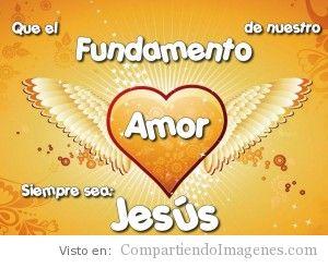 Jesus es nuestro fundamento