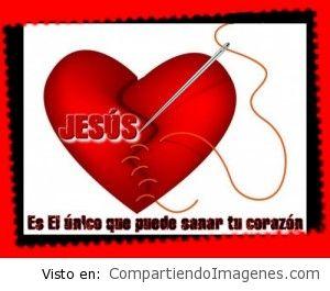 Jesús es quien puede sanar tu corazón