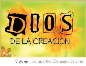 Dios de la creacion