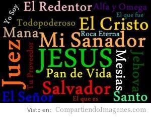 Nombres de nuestro Dios