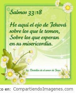 El principio de la sabiduría es el temor a Jehová