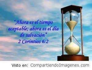 Ahora es el día Aceptable, Hoy es el día de Salvacion