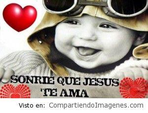Sonríe que Jesús te ama!