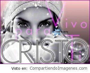 Vivo para Cristo!