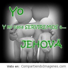 Mi familia y yo te serviremos Señor!
