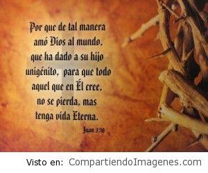 En Jesus hay vida eterna