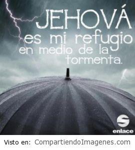 El es mi refugio en medio de la tormenta