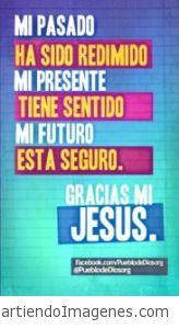 Mi futuro esta seguro en Jesus