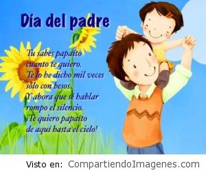 Te quiero papa!