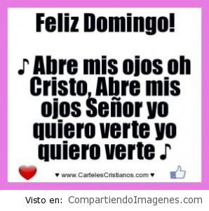 Feliz Domingo… Bendiciones