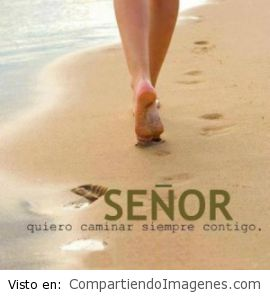 Quiero caminar siempre contigo