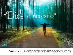 Te necesito Dios