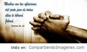 El Señor nos librara de todas nuestras aflicciones!