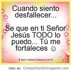 Jesucristo es mi FORTALEZA
