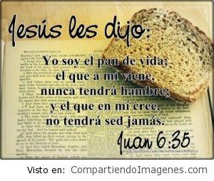 Jesucristo el pan de vida