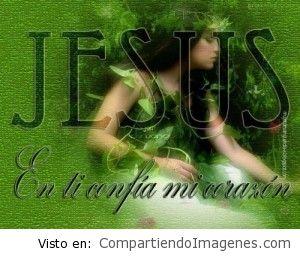 Jesus, mi corazon confia en ti