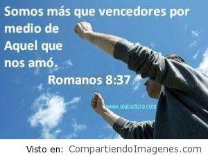 En Cristo somos mas que vencedores