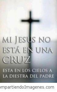 Jesucristo vive y reina en los cielos!