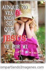 Siempre esta cuidándome Señor Jesus