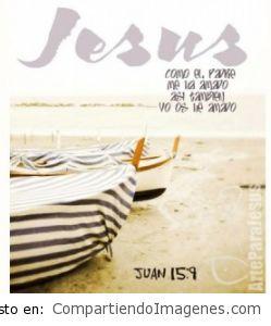 Jesús me ama con amor eterno