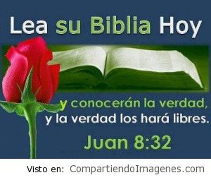 Lea su biblia hoy