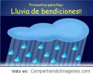 Lluvias de bendiciones