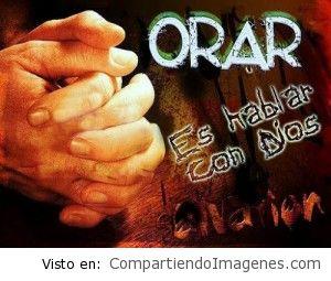 Orar es hablar con Dios