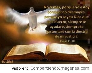No desmayes, Jesus esta contigo…