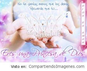 Eres una princesa de Dios